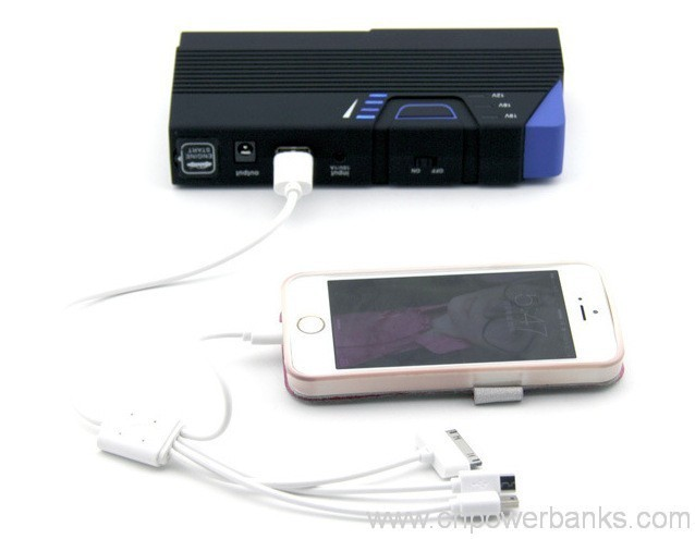 portable 12v 13600mah car jump start portable power bank. Black Bedroom Furniture Sets. Home Design Ideas