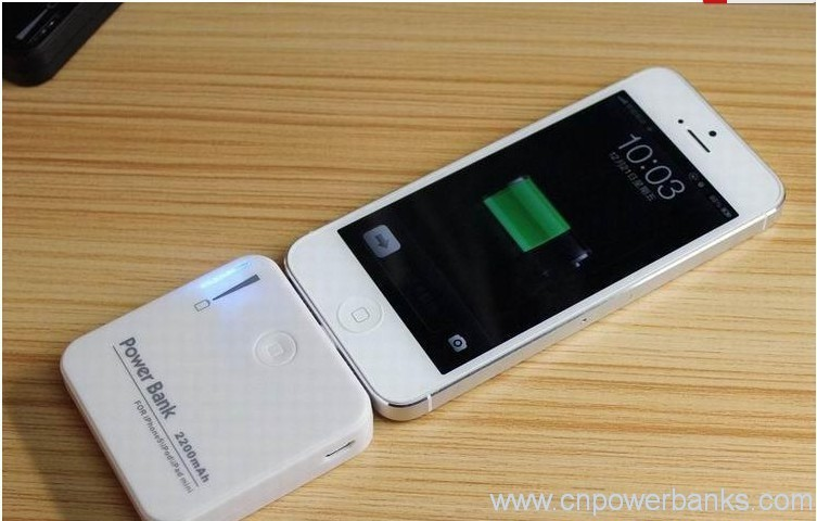 Mini Power Bank 2200mah For Iphone 5 Portable Charger