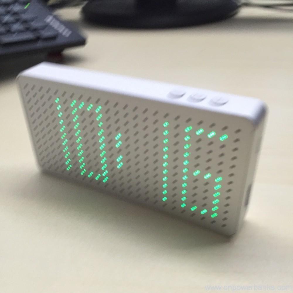 Led Display Dual Usb Portable Power Bank 10000mah Hengye